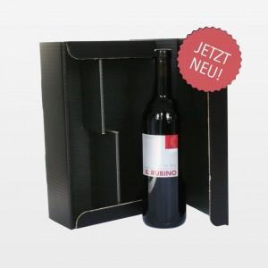 Verpackung für zwei Weinflaschen