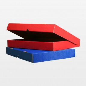 Klappdeckelbox A4