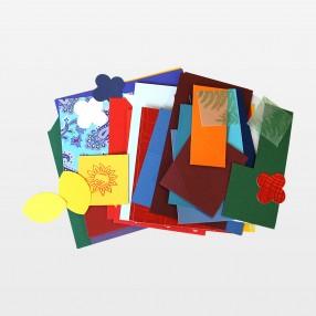 Bastelbeutel in verschiedenen Farbtönen