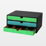 """Schubladenbox """"Stifte bunt"""""""
