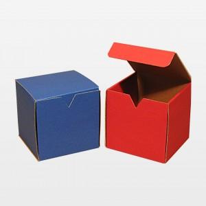 Klappdeckelbox für eine Tasse