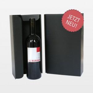 Verpackung für eine Weinflasche