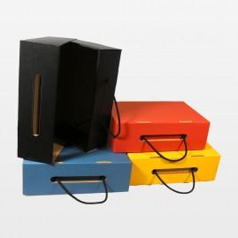 Koffer mit Kordelgriff