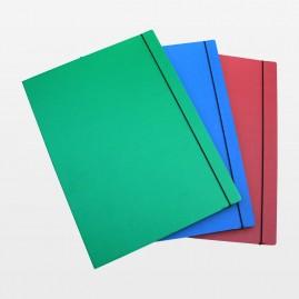 Mappe A3 farbig mit Gummizug