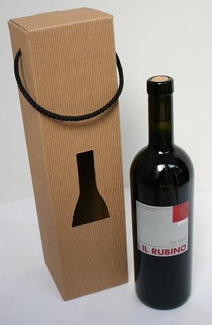 Flaschenverpackung selbst gestalten mit günstigen Rohlingen als Boxen